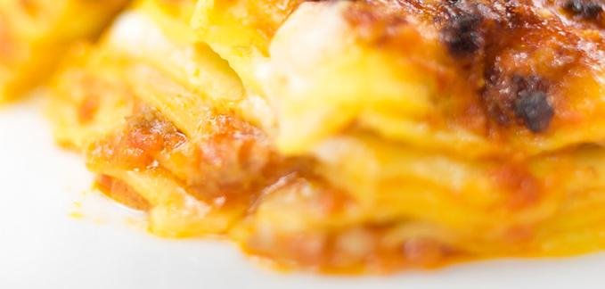 vincisgrassi o lasagne alla marchigiana