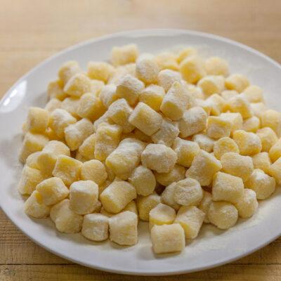 gnocchi di patate a mano, bottega bartolini